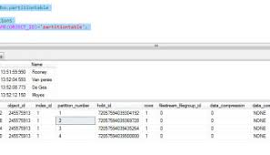 table partitioning in sql server how to remove table partitioning in sql server applied sql