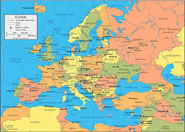 map of countries surrounding germany tours places