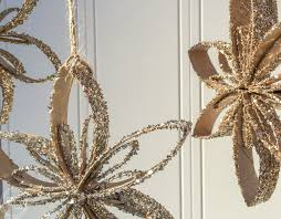 toilet paper snowflake ornaments refresh living