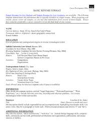Sample Resume Objectives For Volunteer by Examples Of Resumes 24 Cover Letter Template For Simple Resume