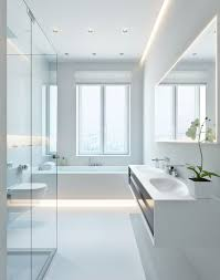 Modern White Bathroom Vanity Bathroom Captivating Modern White Bathrooms Bathroom Modern