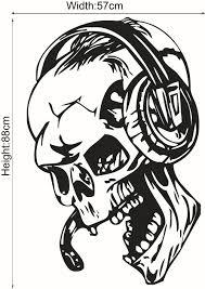 Halloween Skeleton Cartoon Online Get Cheap Wall Sticker Skeleton Aliexpress Com Alibaba Group