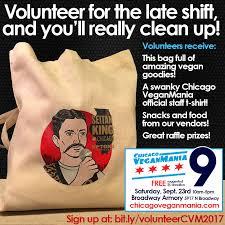 Volunteer Meme - volunteer chicago veganmania