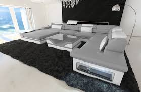 sofa mit led luxury design sectional sofa mezzo with led lights genuine