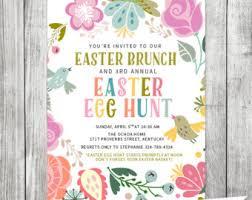 easter brunch invitations easter invitation easter invite vintage easter brunch