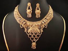 gold costume necklace images Shree mata jewellers 23ct gold necklace jpg