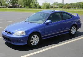 1989 Civic Si Rare Stocker Electron Blue 2000 Honda Civic Si Bring A Trailer