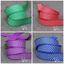 buy ribbon online swiss dots grosgrain ribbon 22mm various colours swiss dot