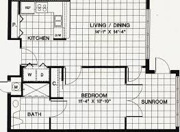 one bedroom apartment floor plans one bedroom one bath 781 sq ft