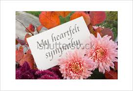 free sympathy cards sympathy card template 12 free printable word pdf psd eps