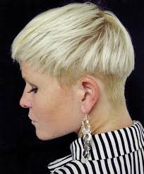 women haircut tapered neck behind ear hairxstatic crops pixies gallery 9 of 9