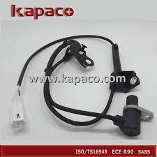 toyota corolla abs light on brand front left abs wheel speed sensor 89543 02040 for toyota