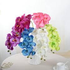 Orchid Bouquet Aliexpress Com Buy Fashion Orchid Artificial Flowers Diy