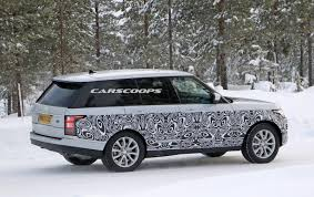 land rover cost 2017 2017 range rover spied getting ready for its first facelift