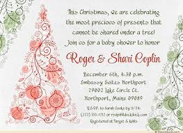 Couple S Shower Christmas Trees Baby Invitation Couples Shower Precious
