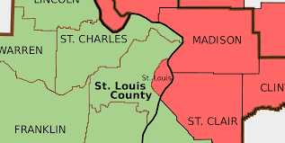 Zip Code Map St Louis by Census Estimates Offer Variety Of Narratives For St Louis Region