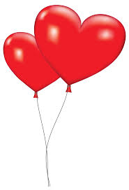 heart balloons orange balloon clipart large heart balloons png clipart picture