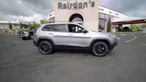 dodge jeep silver 2017 jeep cherokee trailhawk billet silver hw665490 everett