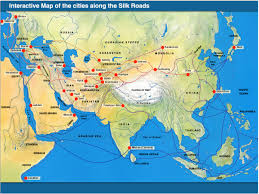 Interactive Map Of The World by Silk Road U0026 Music Tibet And China Opening Doors To The World