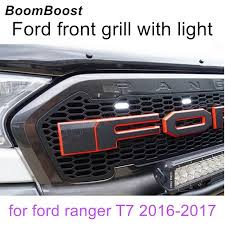front grill ford ranger aliexpress com buy boomboost for ford ranger t7 2016 2017 led