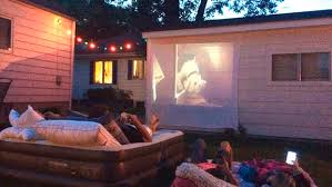Backyard Projector Backyard Movie Projector Outdoor Goods