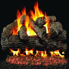 peterson real fyre 24 inch royal english oak gas log set with