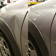 color match auto paint most body shops would replace this fender and paint a new one