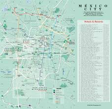 Maps Mexico by Mexico City Map