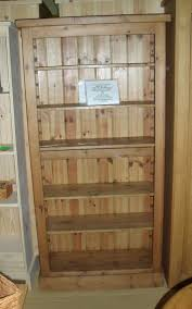 Timber Bookcases Reclaimed Timber Bookcase With 5 Adjustable Shelves The