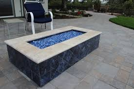 Glass Firepits Lowes Gas Pit Outdoor Curved Bench Pits Propane Dining Table