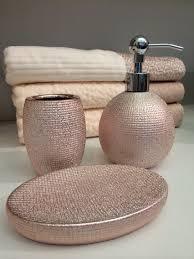 home goods bathroom decor creative idea rose gold bathroom accessories magnificent ideas set