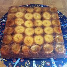 caramel walnut upside down banana cake recipe u2014 dishmaps