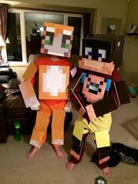 Minecraft Villager Halloween Costume Minecraft Dantdm Costume Grim Projects