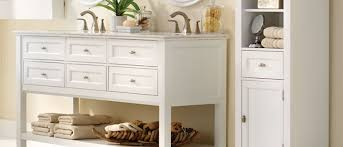 Bathroom Storage Cabinet Enchanting Shop Bathroom Storage At Lowes On Cabinet Best