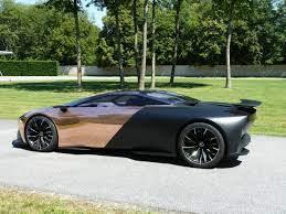peugeot concept car peugeot onyx concept car at goodwood festival of speed