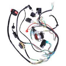 Honda Atc 70 Stator Wiring Diagram 50 70 90 110 125cc Mini Atv Complete Wiring Harness Cdi Stator