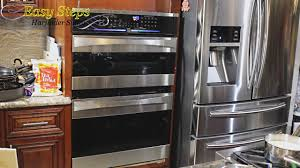 diy project how to install wall oven ge monogram kenmore