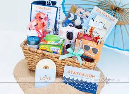 Travel Gift Basket Staycation Kit Inspiration Made Simple