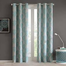 63 Inch Curtains Target by Amazon Com Senna Window Panel Pair Aqua 84