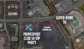 Great America Map Santa Clara by Houston Super Bowl Parties 2017 Club 50 Primesport Vip Super