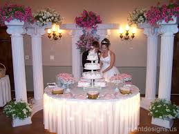 Wedding Cake Table Ideas Pretty Stuff Inspirations Ideas DIYs - Cake table designs