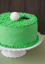 golf cakes ideas