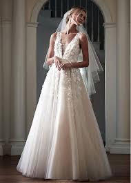 v neck wedding dresses buy discount fabulous tulle v neck neckline a line wedding dresses