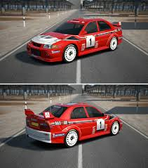 mitsubishi lancer evo 6 mitsubishi lancer evolution vi rally car u002799 by gt6 garage on