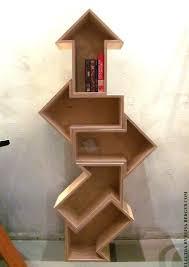 arrow bookcase woodworking pinterest arrow wooden shelves