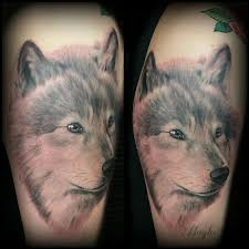 lucky bamboo tattoos nature wolf