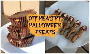 diy healthy and vegan halloween treats youtube