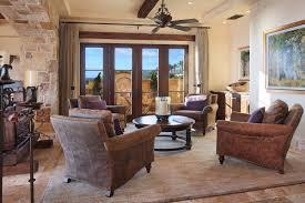 interior mediterranean interior design of the study room with