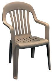 High Back Plastic Patio Chairs 8254 96 3700 High Back Patio Chair Resin Beige