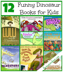 funny books for a dinosaur preschool theme the measured mom